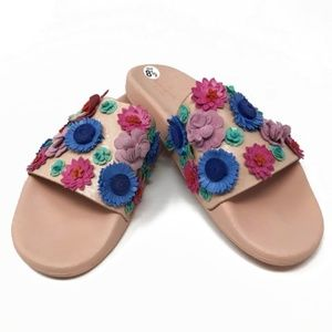 Kate Spade Women's Skye Floral Sandals--Size 8.5
